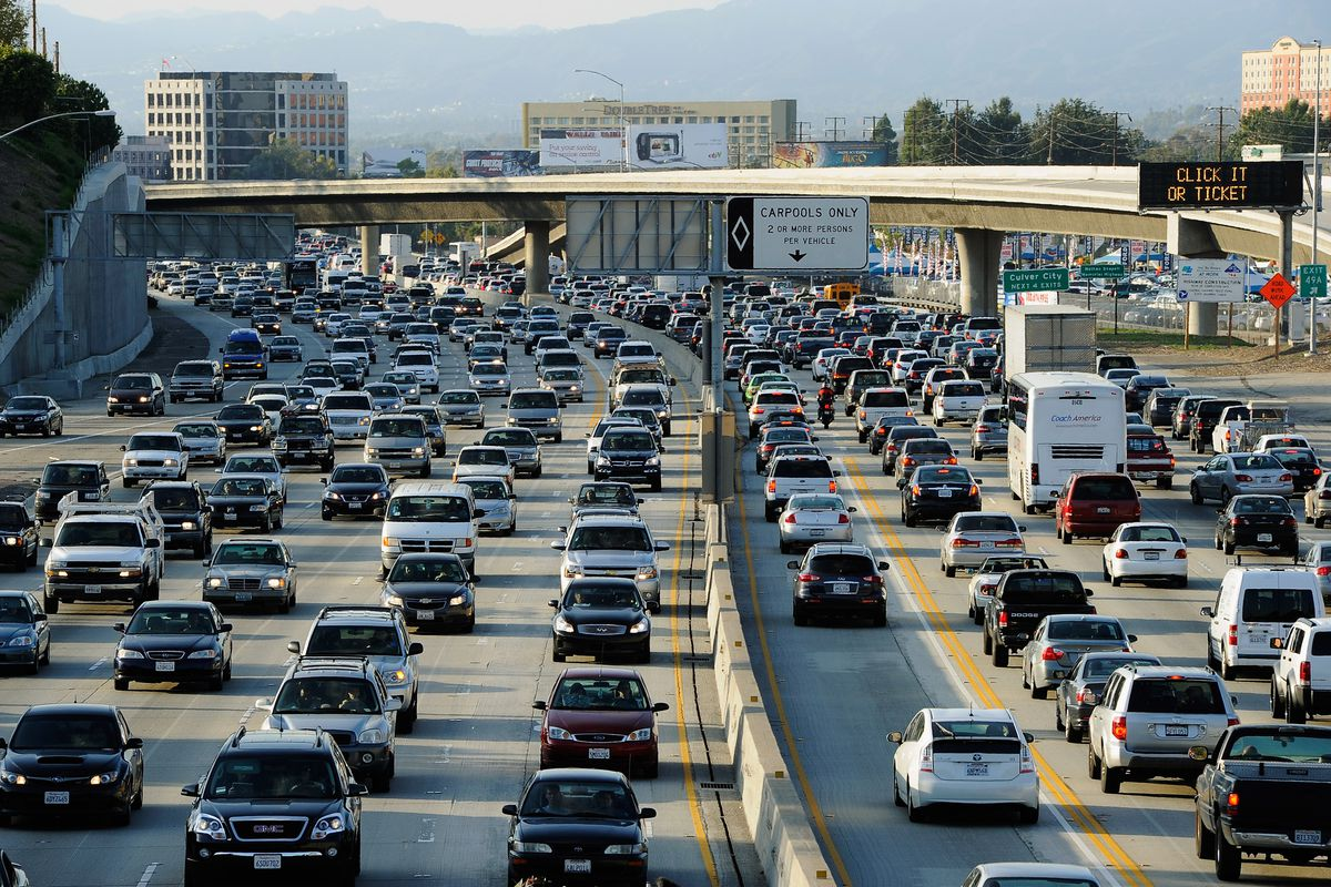 surprising no one, los angeles is the most gridlocked city