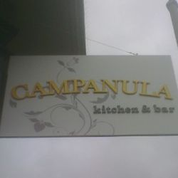 Campanula sign taken this morning (2/24/11) in North Beach