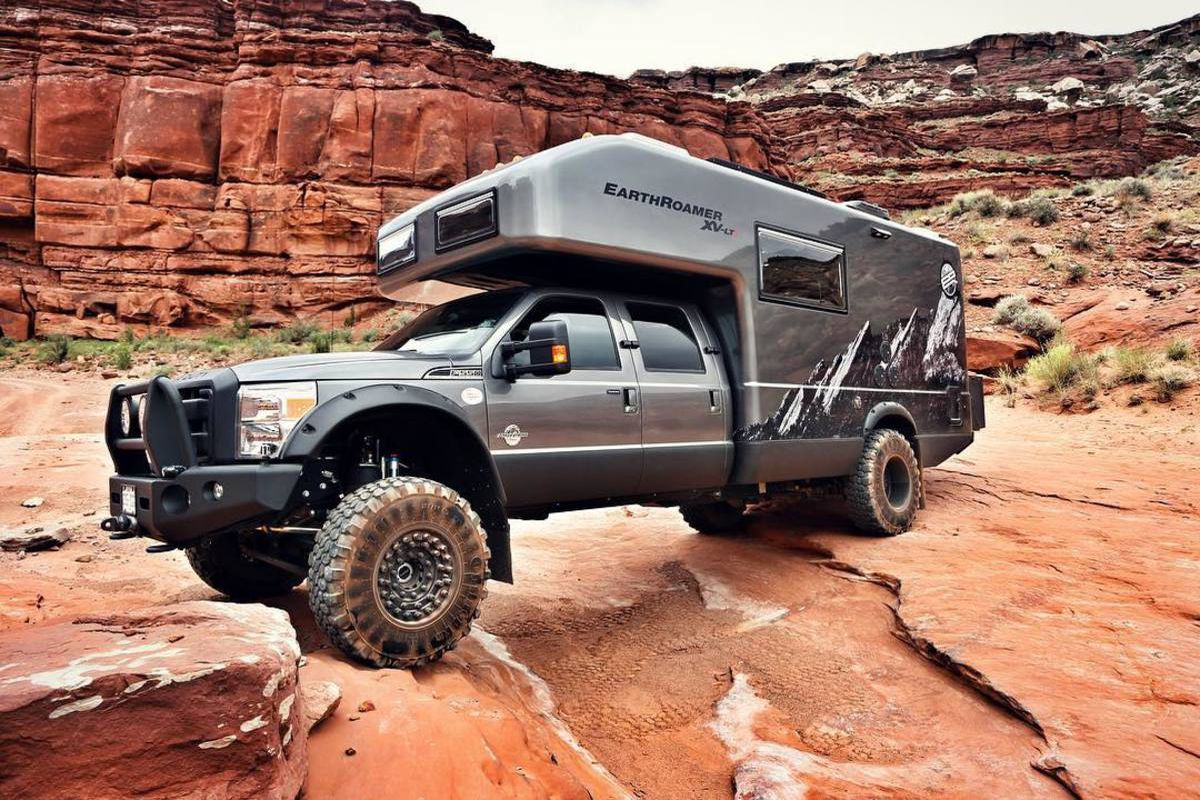 Off Road Trucks For Sale >> Off-the-grid adventure camper from EarthRoamer costs more than your house - Curbed