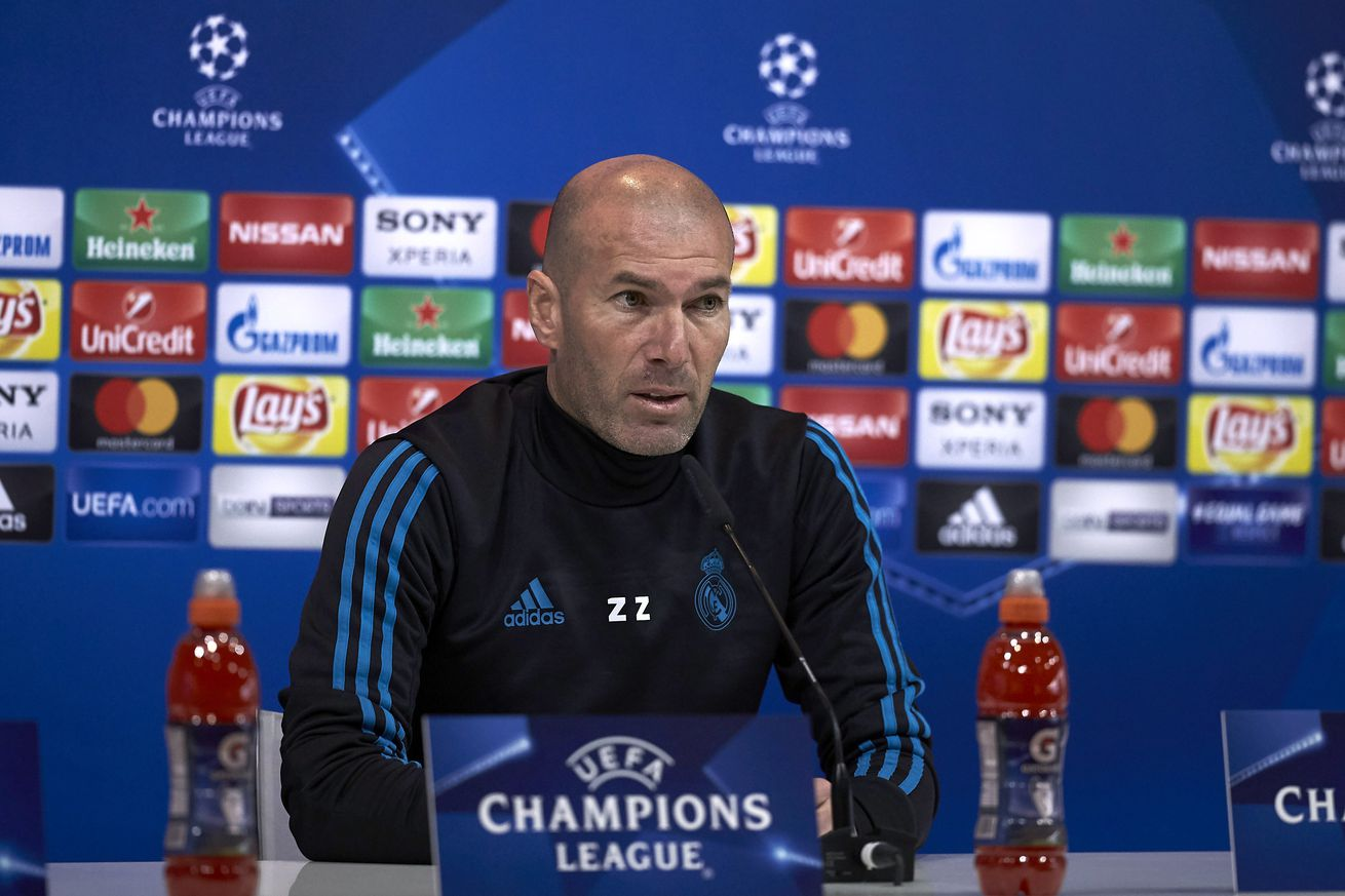Zidane: ?Liverpool can?t say they?re hungrier than us?
