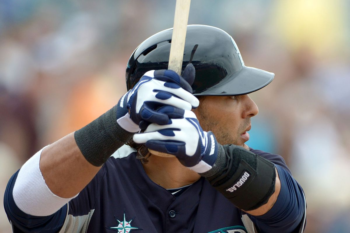 Michael Morse hit his seventh homer of the spring