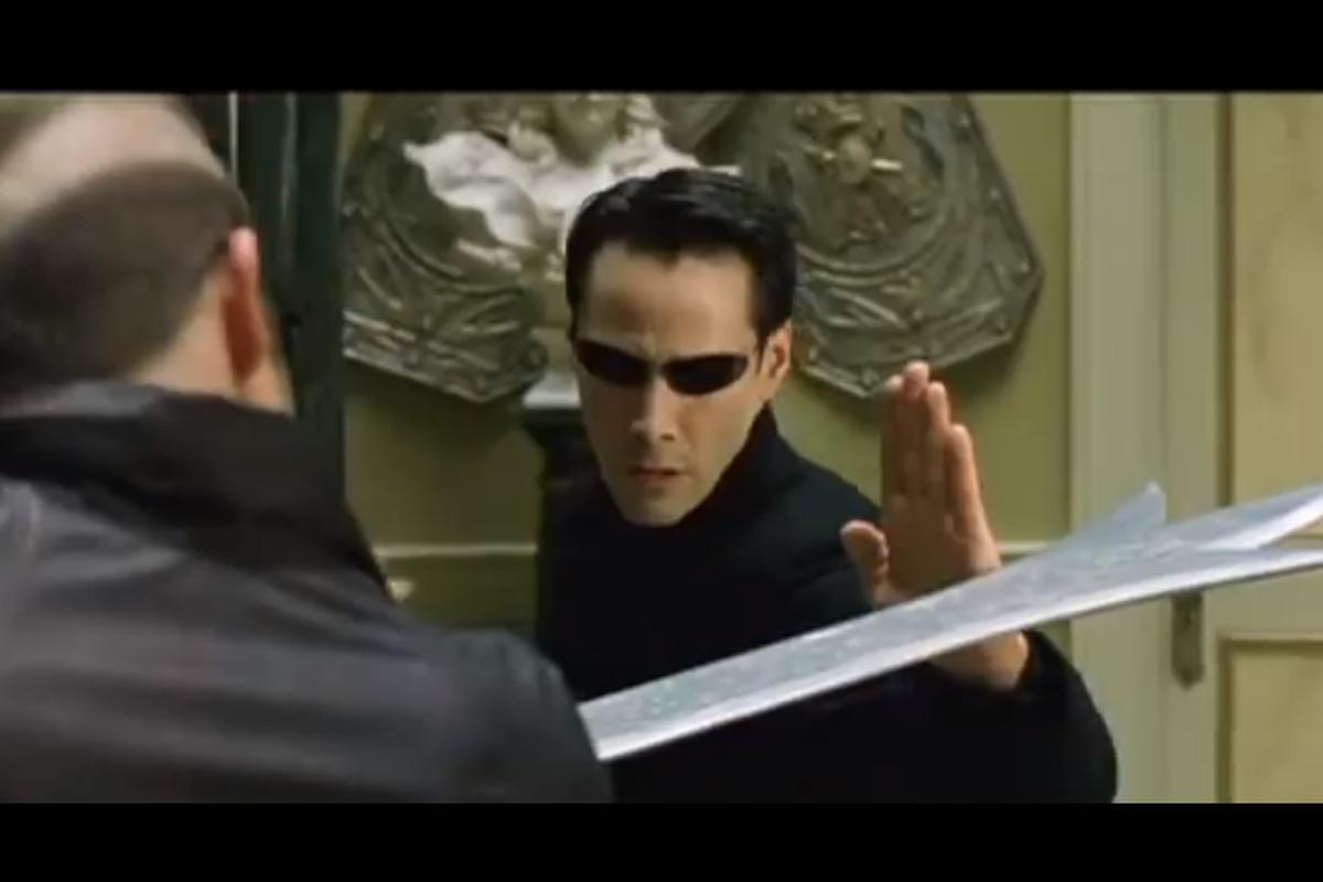 Matrix fight scene  NES-style sound effects  Friday  - Polygon