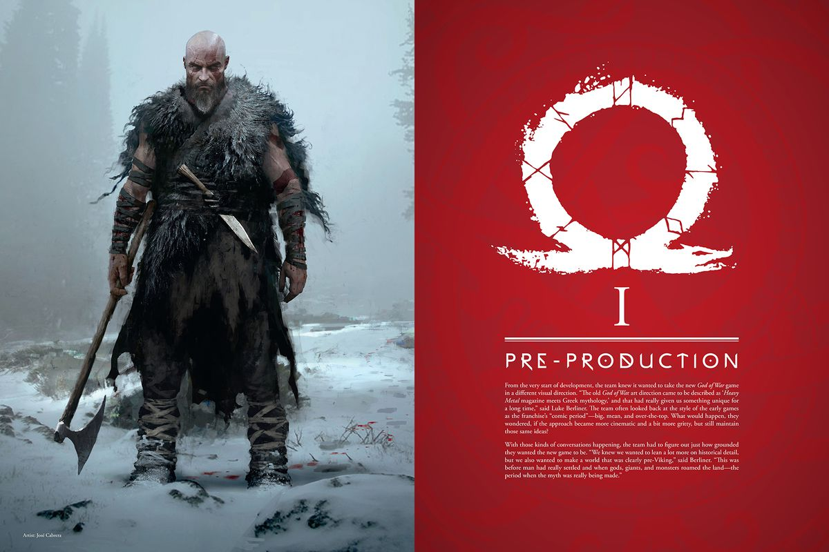 From The Art of God of War.