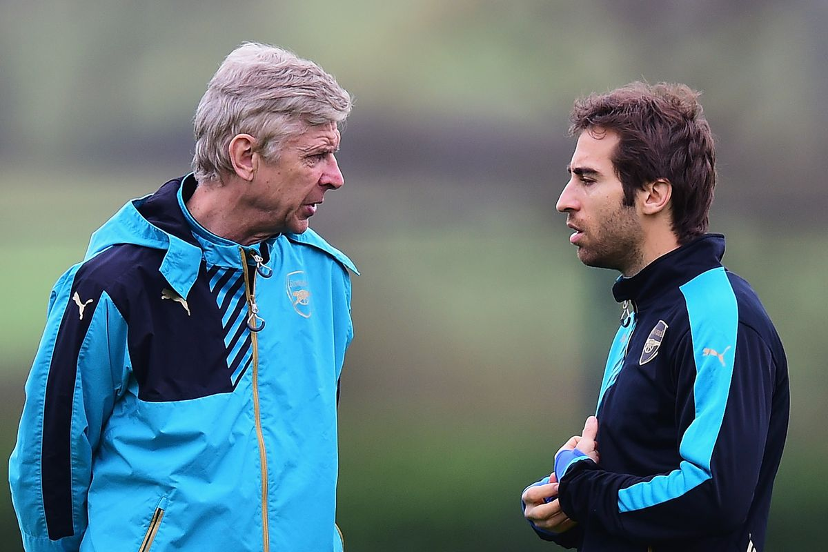 the two smartest people at Arsenal