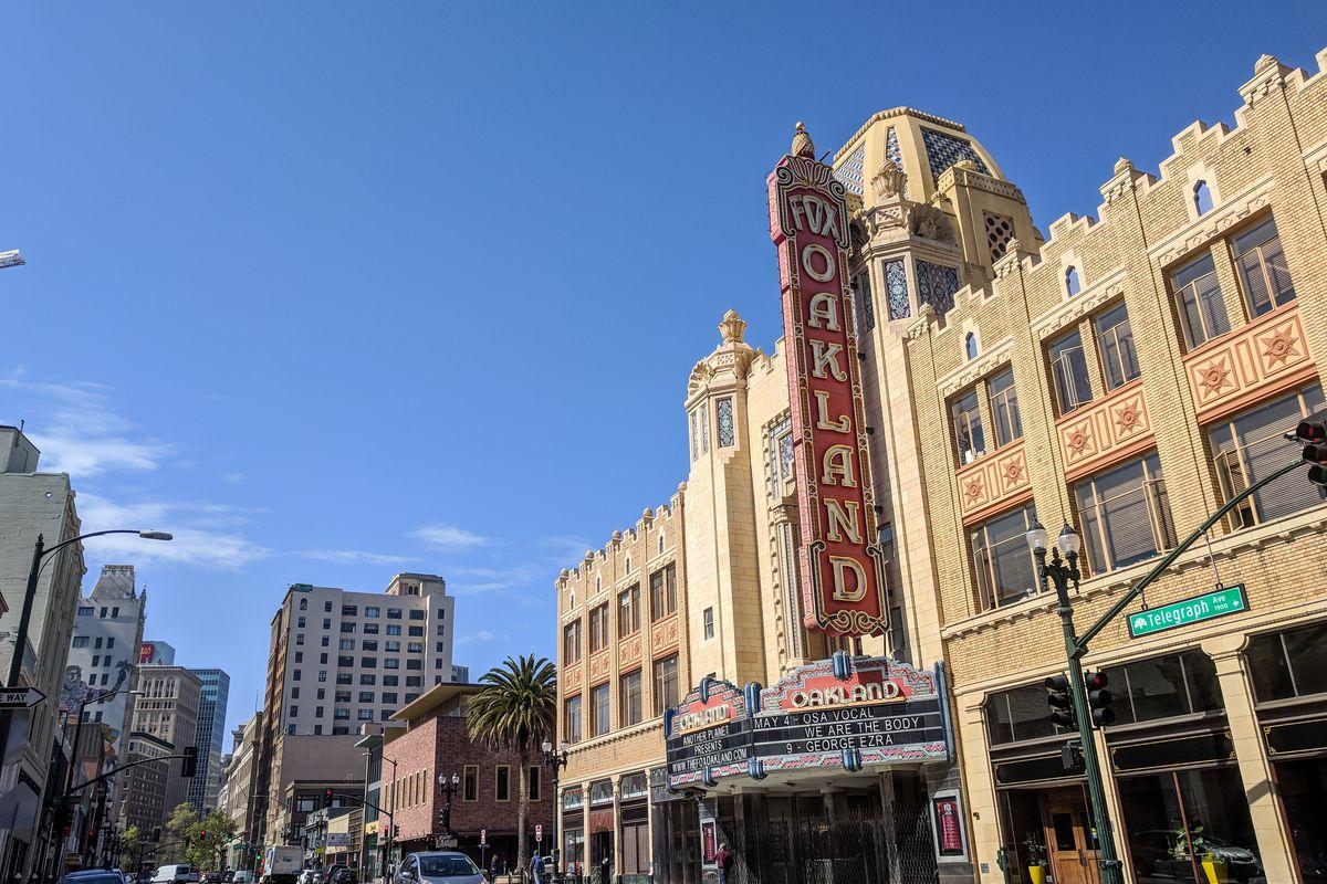 Oakland California streetscape
