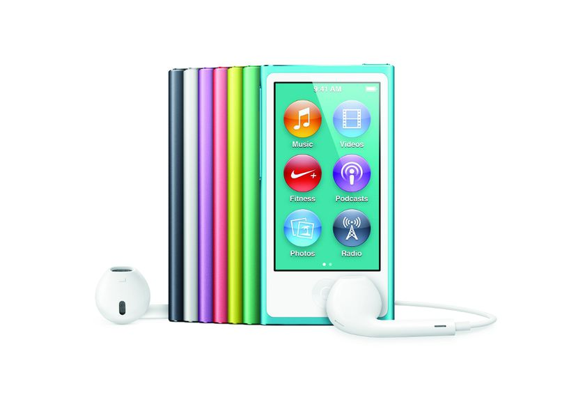 apple updates ipod nano with a larger screen bluetooth. Black Bedroom Furniture Sets. Home Design Ideas