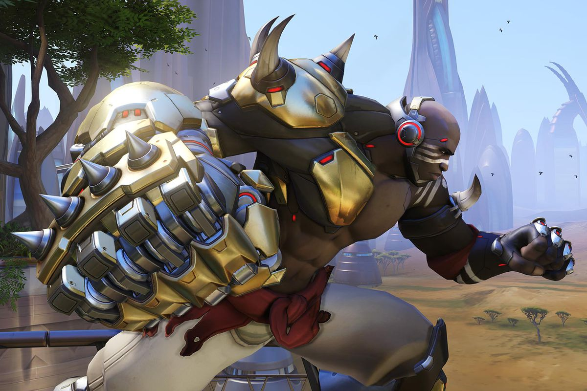 A little taste of what Doomfist will be capable of on the live server.