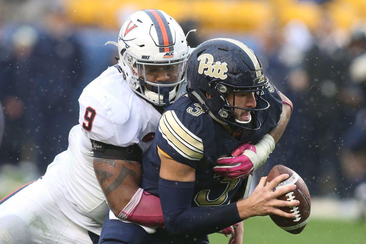NCAA Football: Virginia at Pittsburgh
