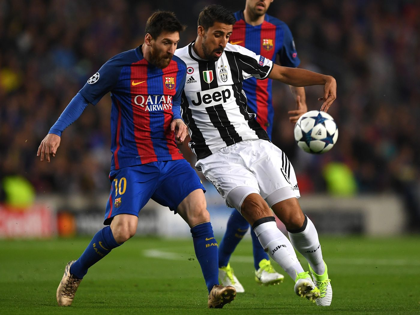 Barcelona Vs Juventus 2017 Final Score 0 0 Team Effort Puts Juve Into Champions League Semifinals Black White Read All Over