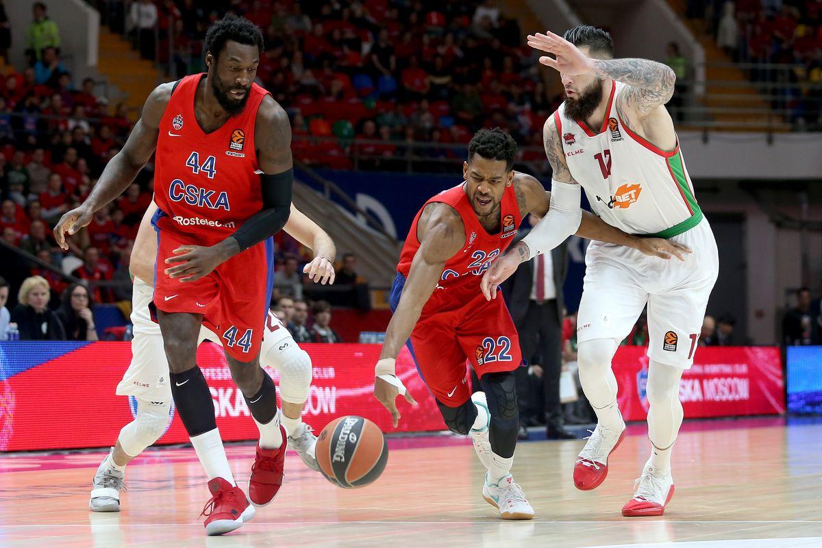 CSKA Moscow v Kirolbet Baskonia Vitoria Gasteiz - EuroLeague Play Offs