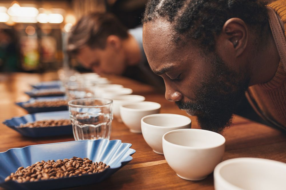 A coffee cupping [Photo: Shutterstock]