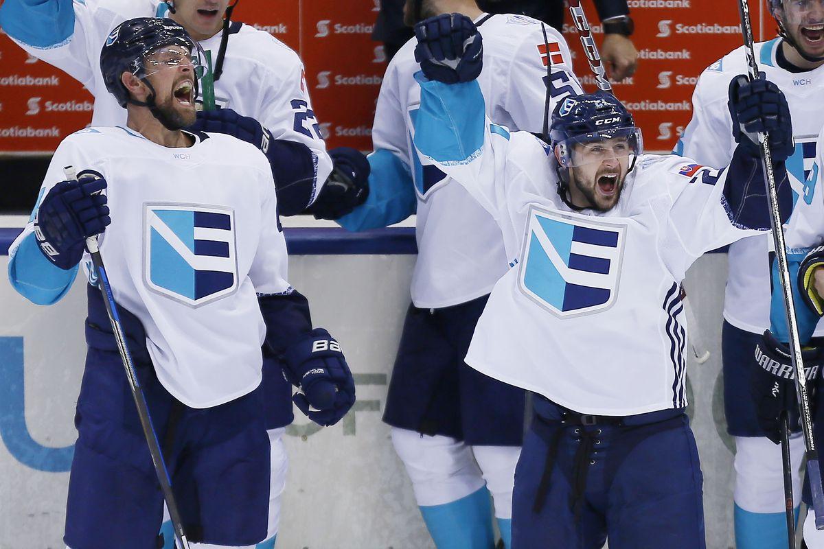 Hockey: World Cup of Hockey-Semifinals-Europe vs Sweden