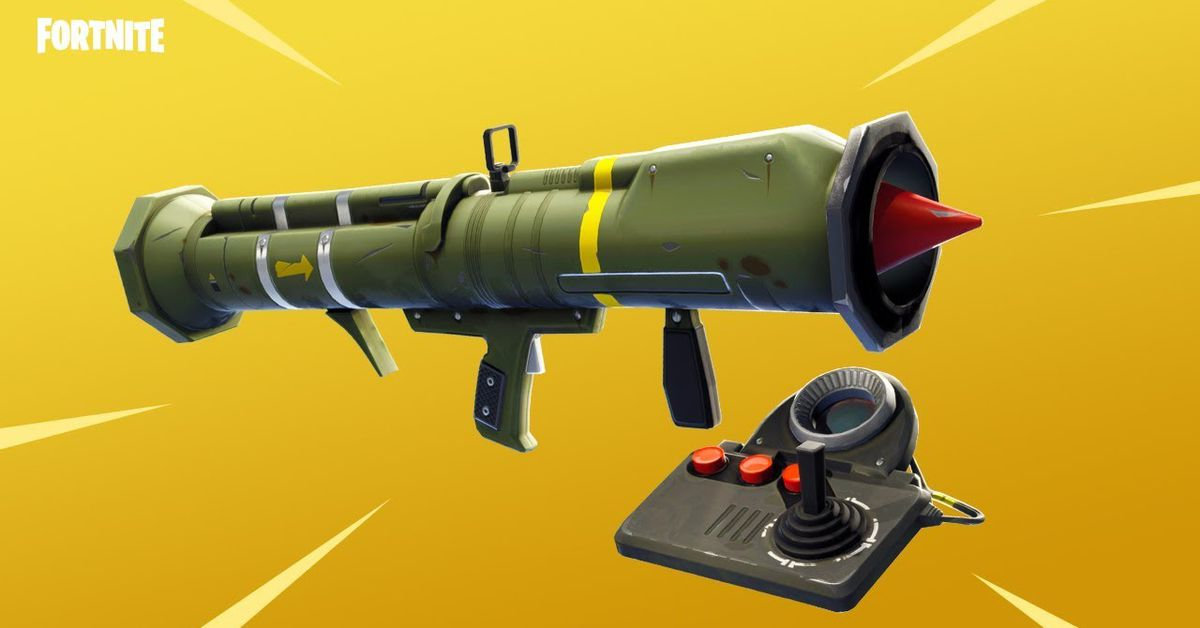 World Death Clock >> Fortnite's new guided missile launcher looks fun - Polygon