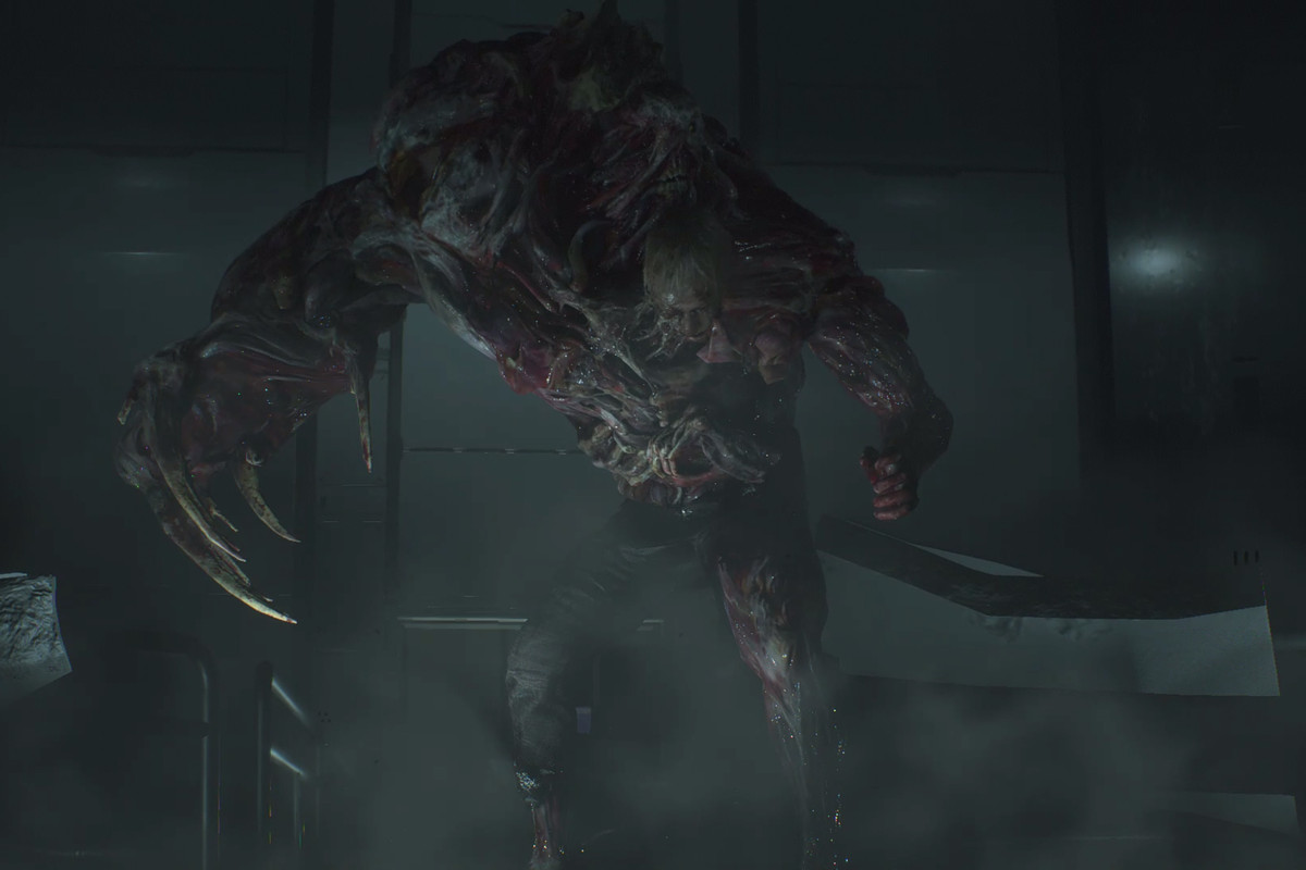 Resident Evil 2 West Area G Phase 3 Boss Fight And