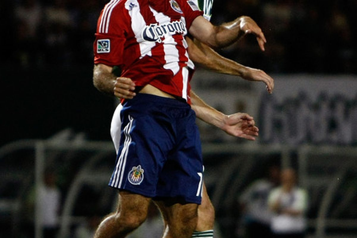 PORTLAND, OR - AUGUST 24:  Can Chivas take care of Portland Saturday and move forward in their development? (Photo by Jonathan Ferrey/Getty Images)