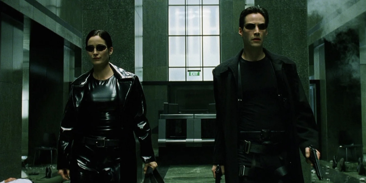 Keanu Reeves and Carrie Anne-Moss are making a fourth Matrix movie