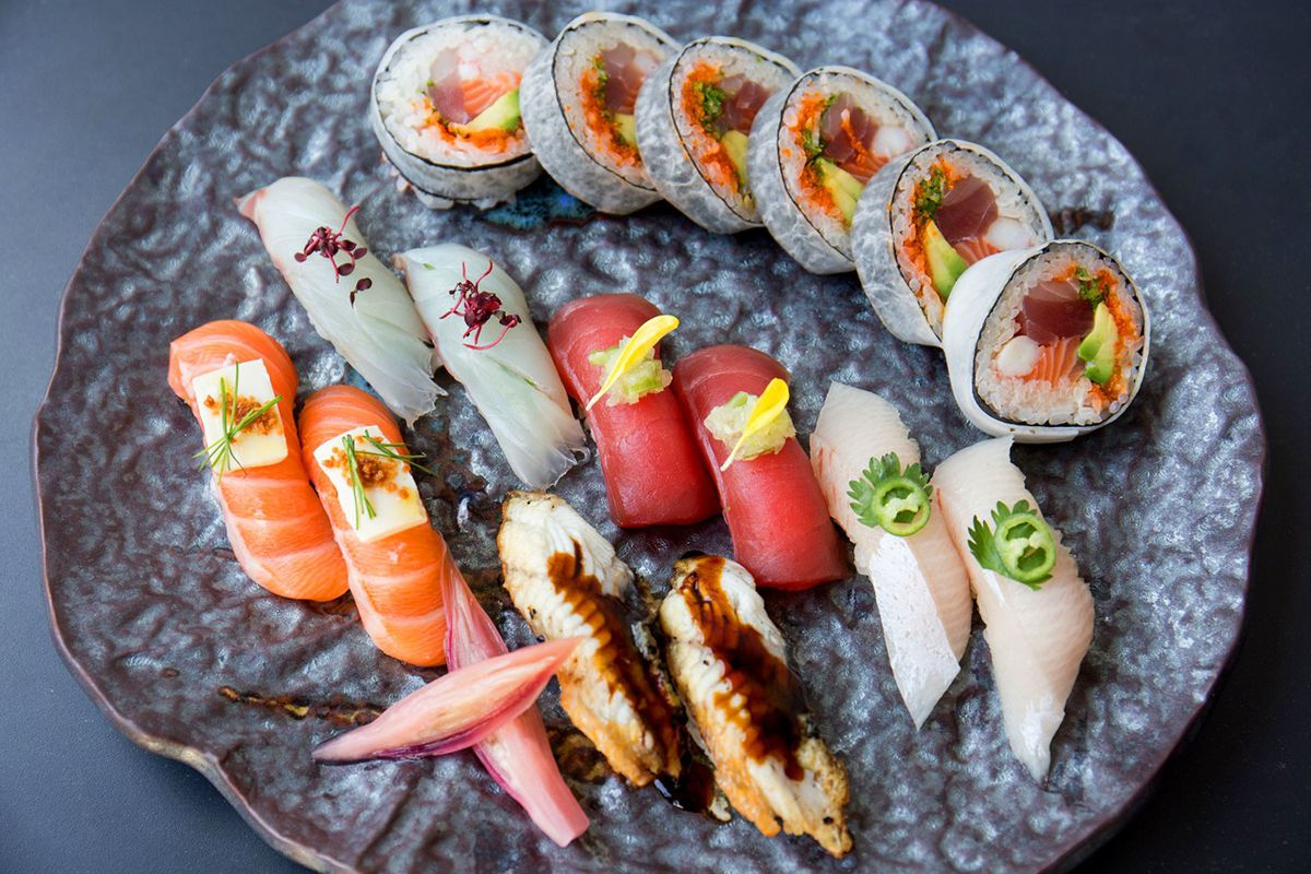 Sushi at Nobu, the legendary London sushi restaurant closing in Mayfair