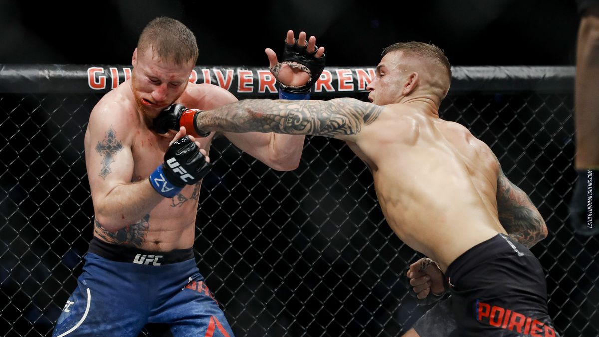 MMA Fighting's 2018 Fight of the Year: Dustin Poirier vs. Justin Gaethje -  MMA Fighting