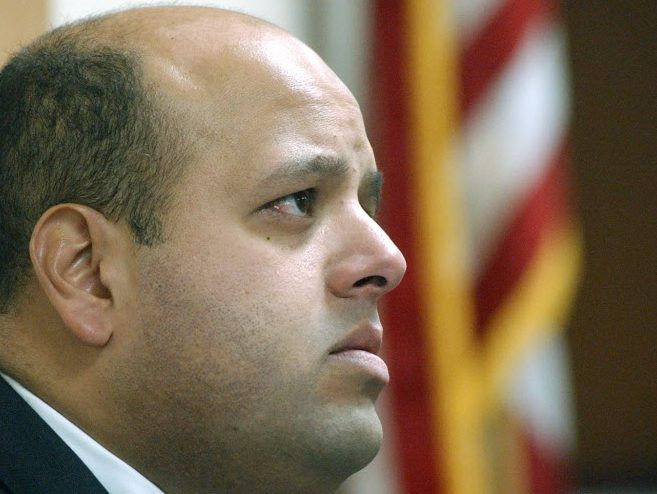 """Victor Reyes (pictured in 2003), said, """"Of all the candidates I've seen, she probably has the best potential to get Latino votes. 