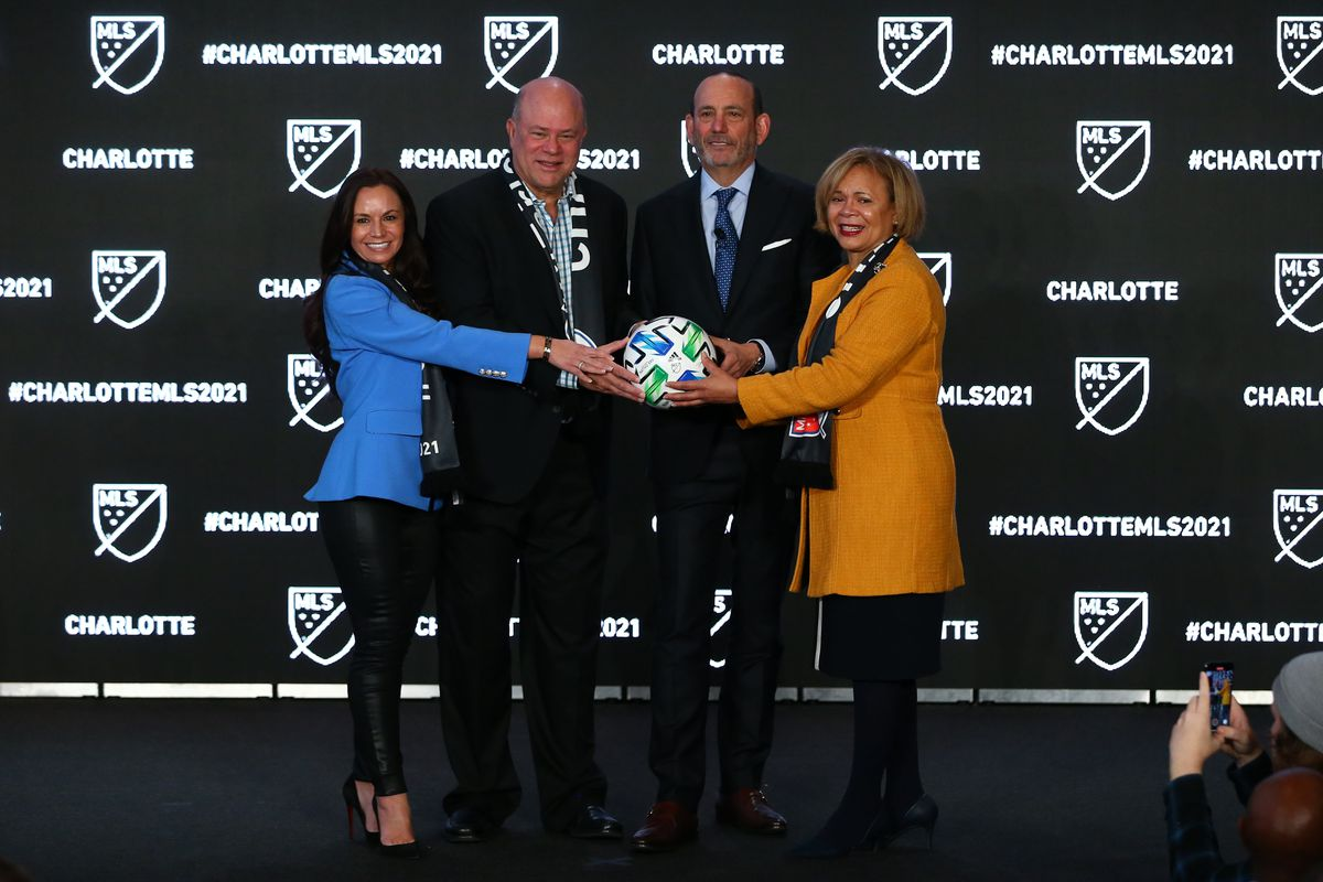 MLS: Press Conference with commissioner Don Garber