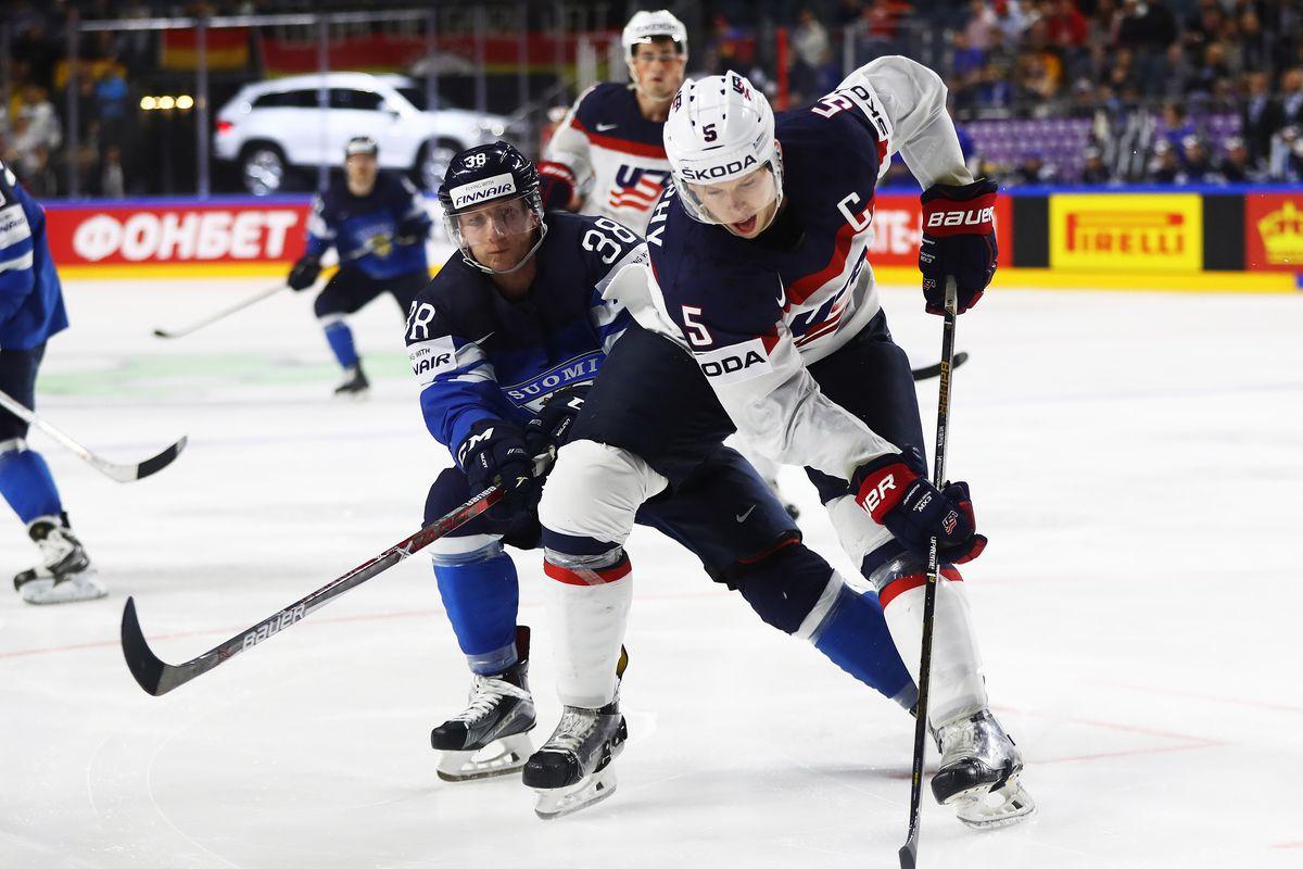 USA v Finland - 2017 IIHF Ice Hockey World Championship - Quarter Final