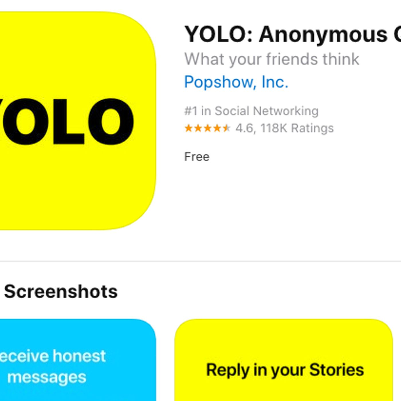 Yolo app on Snapchat: What parents need to know - Deseret News