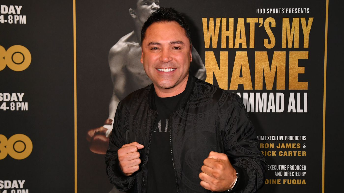 Oscar de la Hoya working on 'something big' for MMA return, would 'beat the sh*t' out of Dana White in the ri…