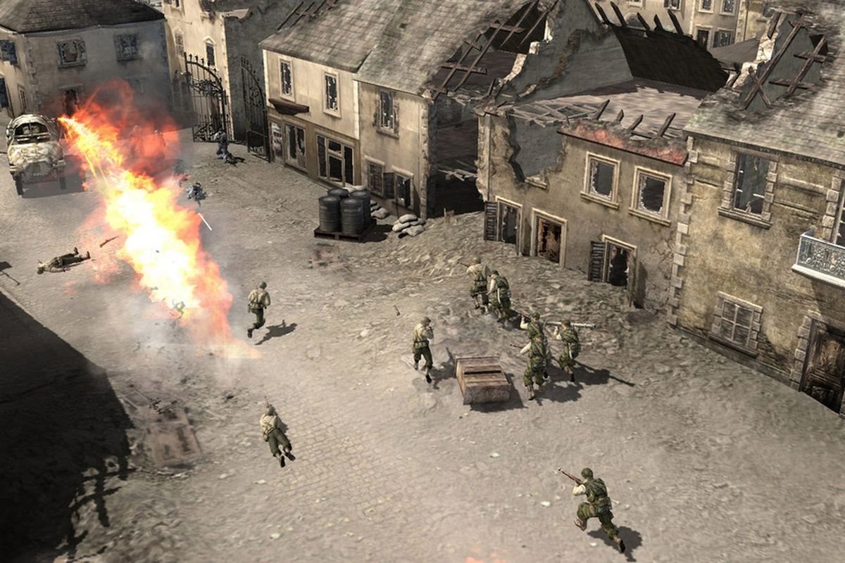 Company of Heroes adding Steamworks support to retain online