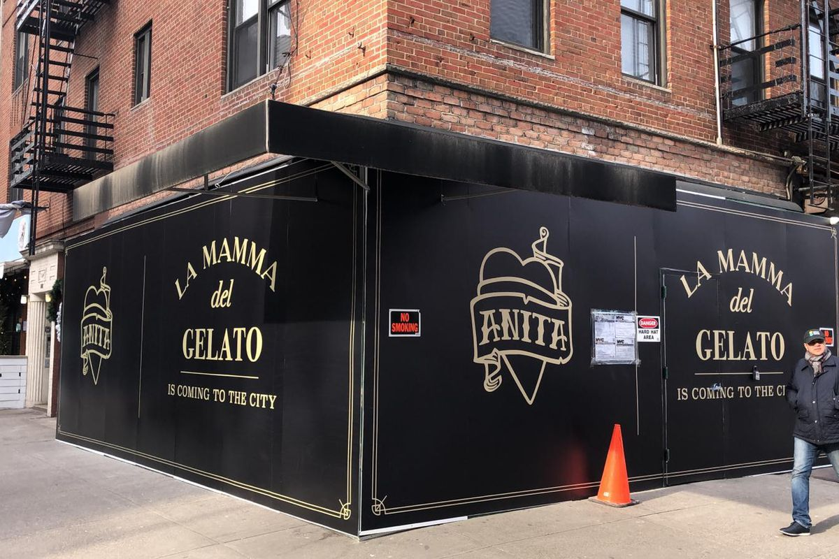 Anita Gelato will open on the corner of Second Avenue and East 81st Street this spring
