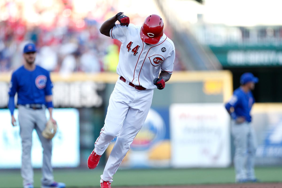 Stupid No More Yasiel Puig S Rookie Replacement Clobbers Cubs With