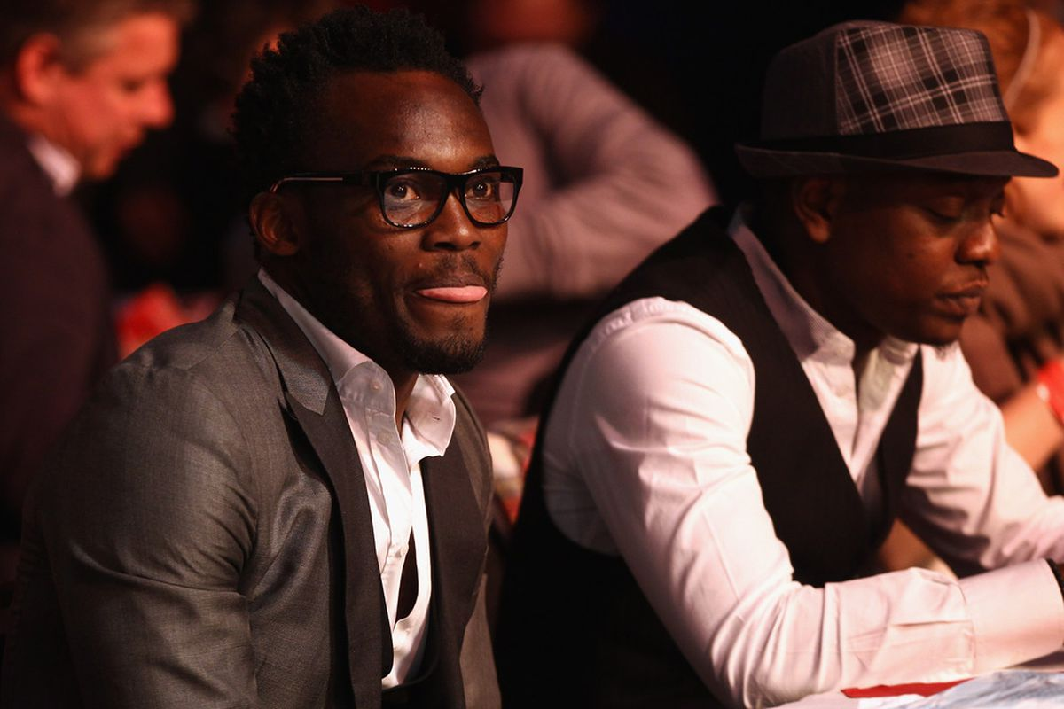 LONDON, ENGLAND - DECEMBER 16:  Chelsea footballer Michael Essien attends during day two of the 2012 Ladbrokes.com World Darts Championship at Alexandra Palace on December 16, 2011 in London, England.  (Photo by Bryn Lennon/Getty Images)