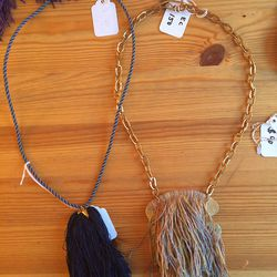 Erin Considine Tassel Necklaces