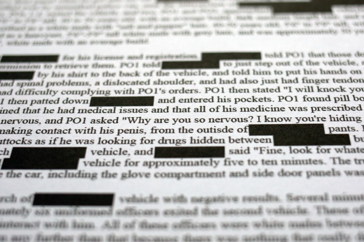 Part of a 2014 CCRB complaint against Detectives Mathew Reich and Philip Vaccarino, along with Sgt. John Ryan.