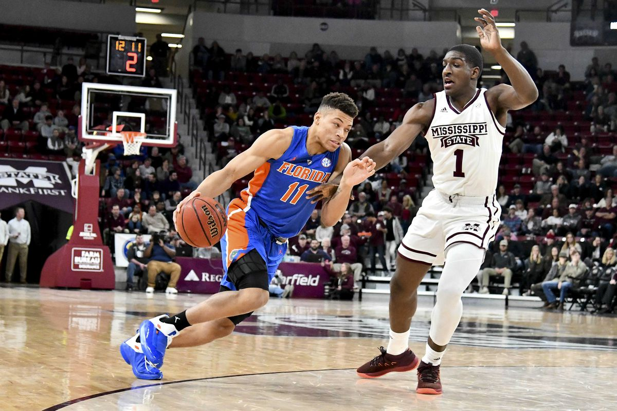 NCAA Basketball: Florida at Mississippi State