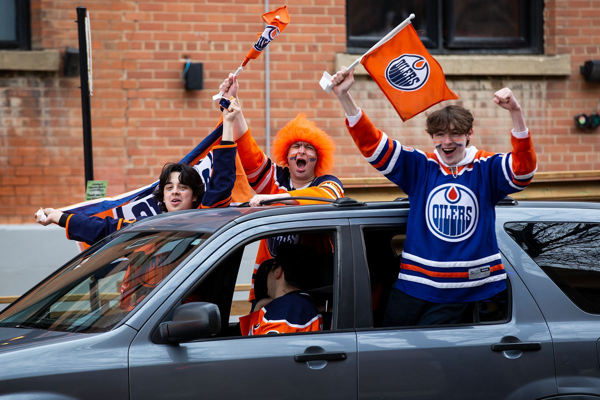 Winnipeg Jets v Edmonton Oilers - Game One