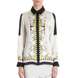 "<b>ICB</b> Handkerchief Print Top, <a href=""http://www.barneys.com/ICB-Handkerchief-Print-Top/502601160,default,pd.html?cgid=womens-blouses&index=27"">$375</a> at Barneys"