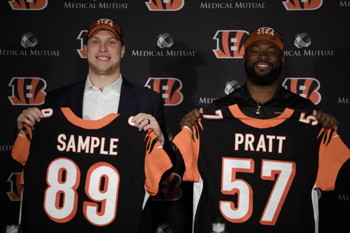 NFL: Cincinnati Bengals-Draft Pick Press Conference