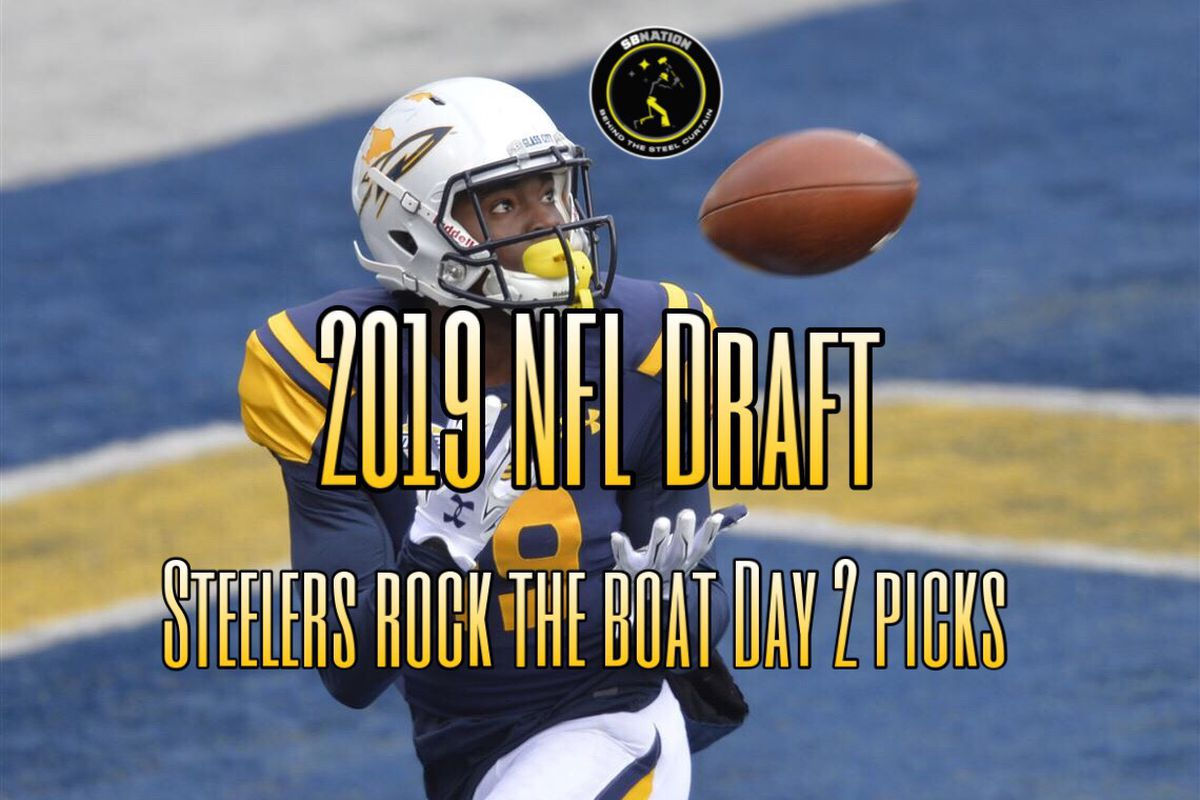 fe6ecbe0a Podcast  Reaction to the Steelers Day 2 picks in the 2019 NFL Draft ...