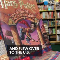 Fans nationwide can type in several words related to Harry Potter and notice that a unique color pops up, similar to how people's names and pages are tagged in statuses.