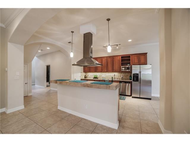 Newish, big condo open kitchen/living area