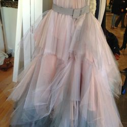 Watercolor Gown, $4000