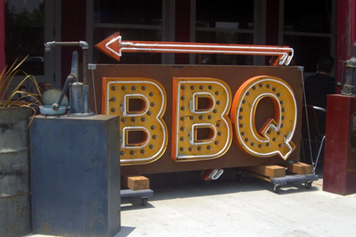 The OC has some BBQ options too.