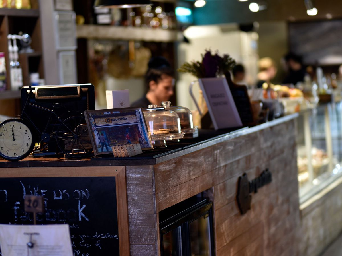 One of East Ham's best restaurants, Carpathia is a Romanian deli with exposed wood and glass counters