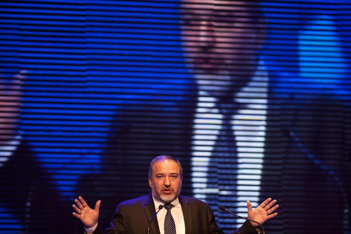 Avigdor Lieberman Uriel Sinai/Getty Images