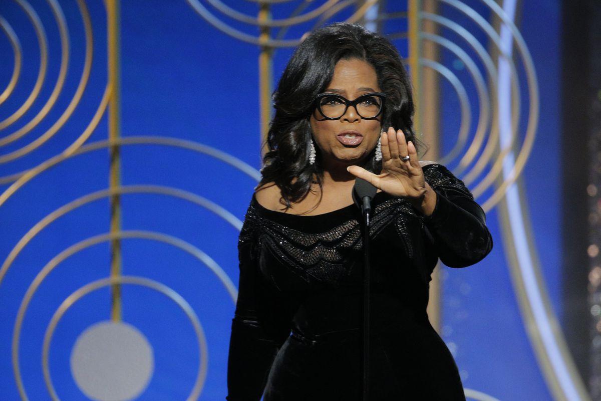 18716391ad9 Oprah 2020  Winfrey s Golden Globes speech kicks off speculation about a  White House run