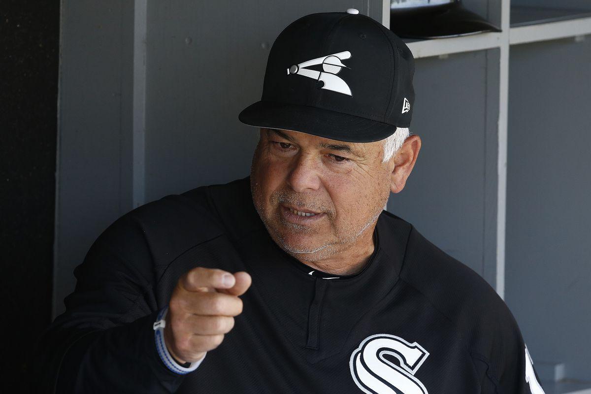 White Sox manager Rick Renteria. (AP Photo/Ross D. Franklin)