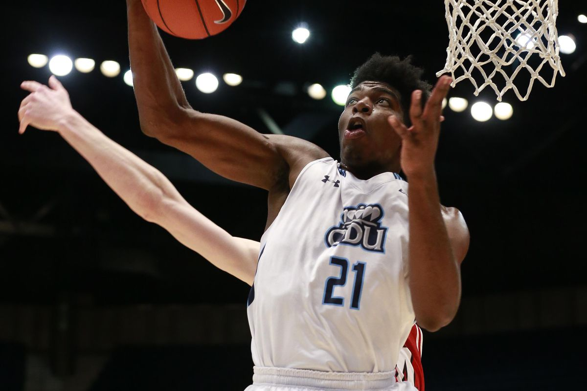 Old Dominion's just two different tournaments shy of tying Louisville's weird record.