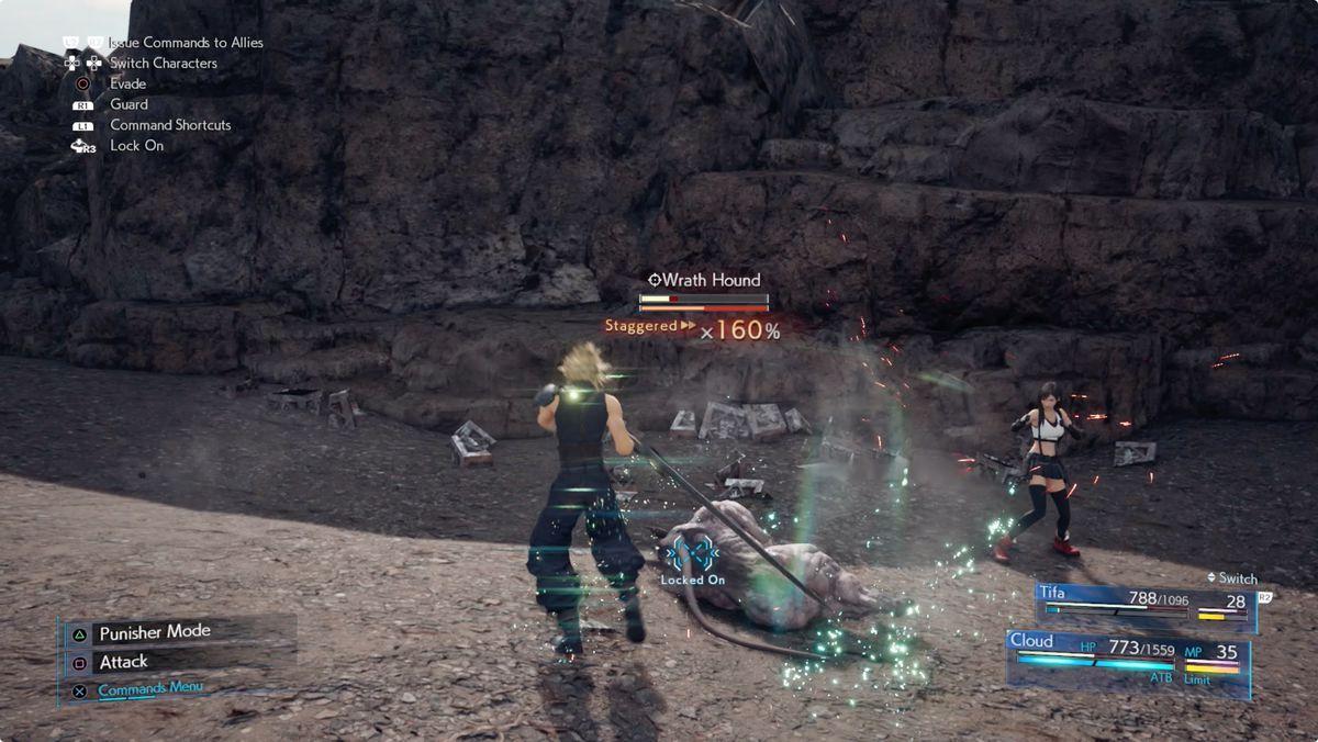 Final Fantasy 7 Remake combat tips stagger