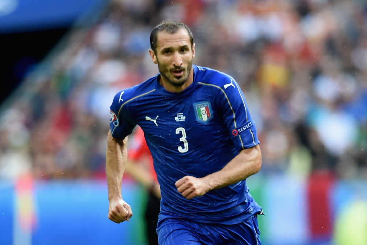 Chiellini is the heart of a powerful Italian defence.