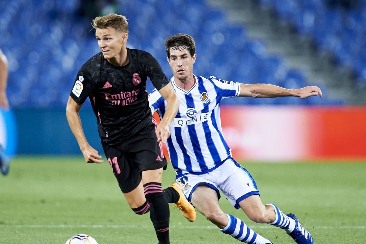 Dissecting degaard s Positive Moments Vs Real Sociedad Managing Madrid